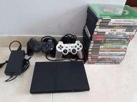 PlayStation 2 con 18 juegos
