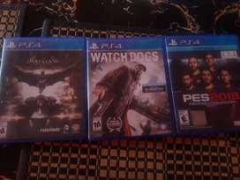 BATMAN, WATCH DOGS, FIFA 17 AND PES 2018