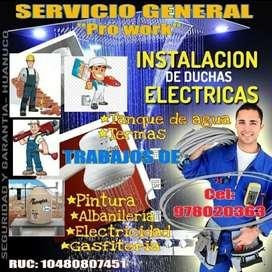 Albañil pintor gasfitero electricista enchapador
