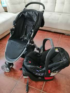 Vendo Britax B-Agile and B-Safe Carruaje y silla para bebe
