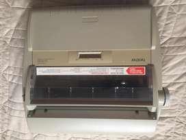 Maquina de Escribir Electronica Brother GX8750