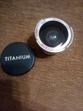 sony camcorder lente Súper Ancha de Titanio Japón
