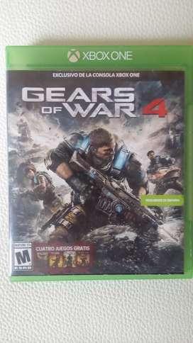 Gears of war 4 y Quantum Break exclusivos para Xbox one (negociable)