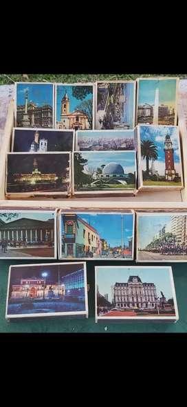 Colecciones de 14 cajas de fósforos 1970