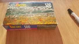 Rompecabezas 500 Piezas. Nuevo Y Sellado