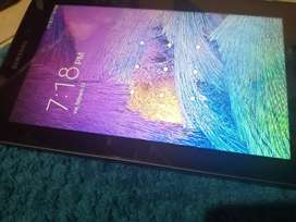 Se vende tablet samsung E tab 4