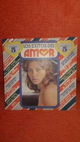 Disco Vinilo Los Exitos Del Amor Volumen 5 Micsa. *1916