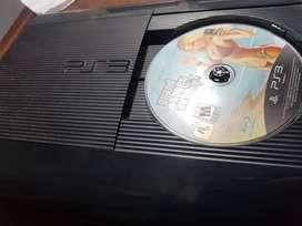PS3 12GB + 4 juegos