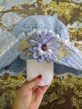 Sombrero de Jeans