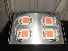 Lampara panel led cob200 w coltivo full spectum NUEVO