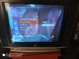 TV convencional de 21 pulgadas  lg
