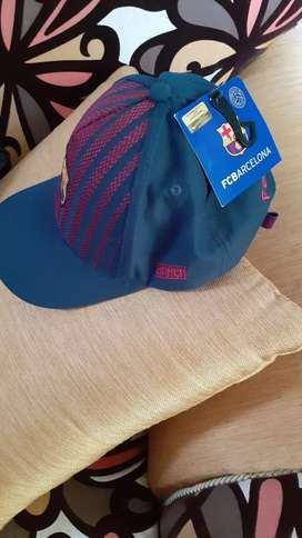Vendo gorra original del barcelona