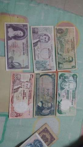 Billetes Antiguos de Colombia
