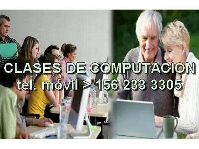 cursos clases de pc informatica computacion p/grandes y chicos, bernal quilmes 0