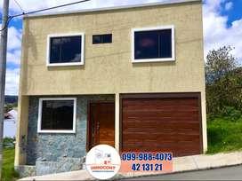 Casa en venta dentro de urbanización, sector El Valle Cuenca, C657