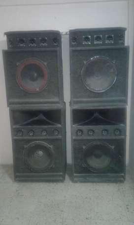 Bafles equipo de sonido