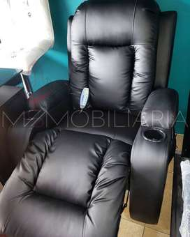 SILLON SOFA RECLINABLE VIBRATORIO