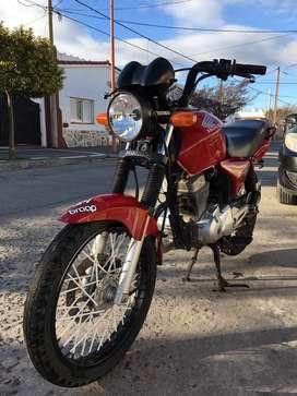 Honda cg titan flamante