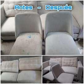 Lavado y aspirado; Muebles, colchones, sillas, tapicería carro