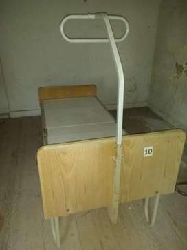 cama ortopédica con trapecio oportunidad