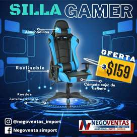 SILLA GAMER TRES MODELOS DISPONIBLES