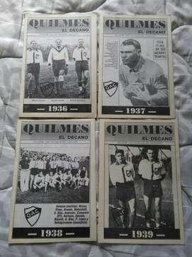Quilmes El Decano Revista diario El Sol Historia QAC Colecci 1936 1979