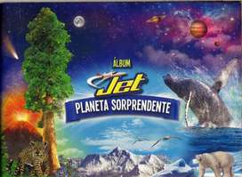 ALBUM DE CHOCOLATINA  JET PLANETA SORPRENDENTE