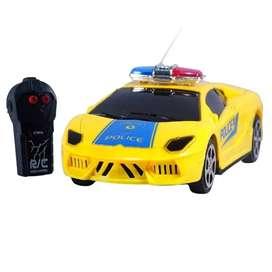 Carro Moderno Policía juguete Luces Para Niño  CAPO 204