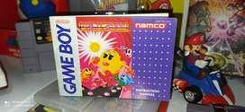 Manual Ms Pac Man ORIGINAL para Gameboy