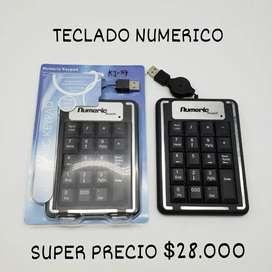 Teclado numerico