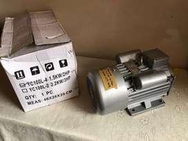 MOTOR ELECTRICO INDUSTRIAL DOS CABALLOS 2HP EN BAJA Y ALTA  11O 220 V