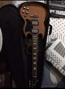 Guitarra electrica epiphone sg worn sg400