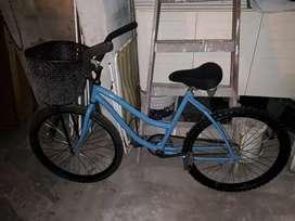 Bici playera de mujer rodado 24 muy buen estado