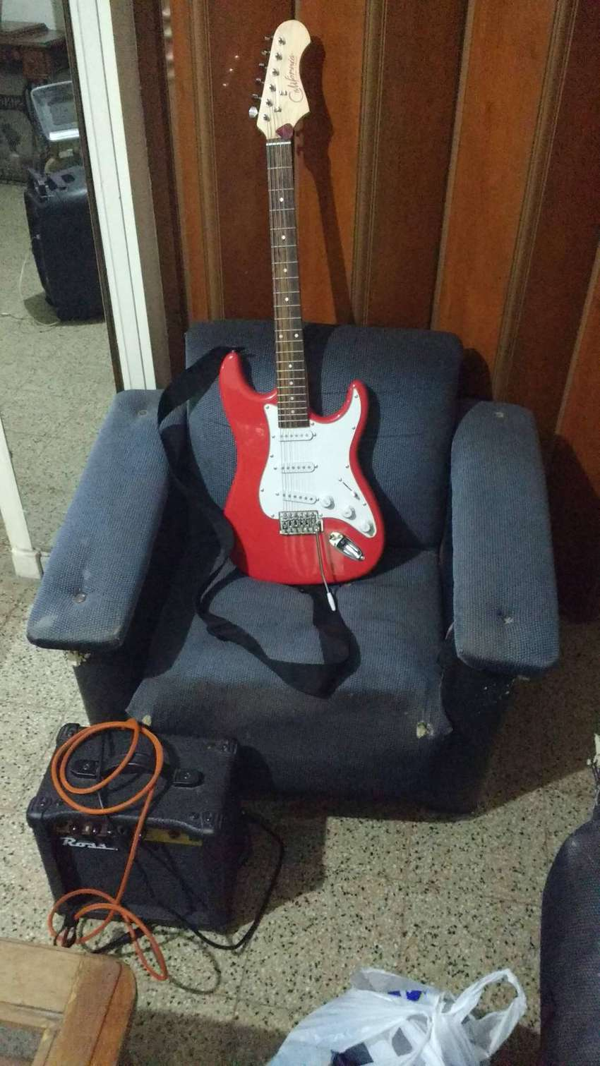 Guitarra Electrica Stratocaster California Tremolo 0