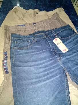 Pantalones hombre talle especial