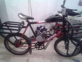 bicicleta de carga tipo panadera con motor