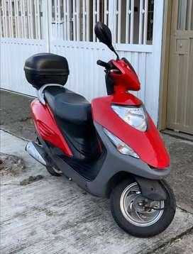 Venta de motocicleta honda elite 125