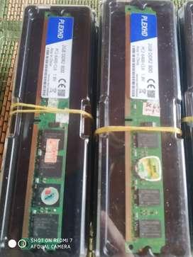 Memorias Ddr2 2Gb para PC escritorio, para Intel o amd