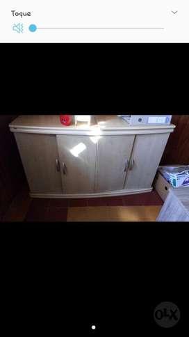 Mueble 4 Puertas Y Estante