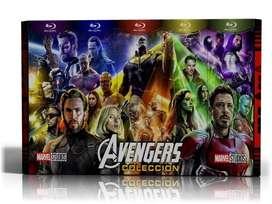 Colección Avengers Blu-ray Latino  5 Box