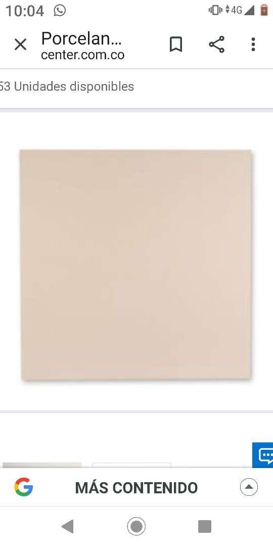 Venta Porcelanato color Beige 60x60 cm Caja 1.44m2 Holztek 0