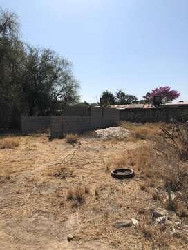 Vendo terreno en pozo de mistol financiado con construccion