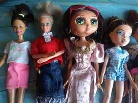 Barbies originales todas en 50 mil en cali