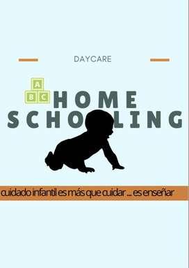 cuidado y educación infantil en casa