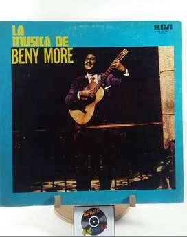 Lp vinyl disco de acetato La Musica de Benny More - Sonero Colombia