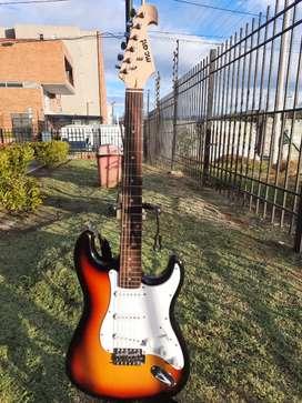 Guitarra eléctrica estilo estratocaster marca MC Art, excelentes condiciones