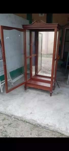 De oferta vitrina  madera de laurel