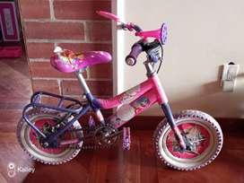 Bicicleta para Niña + Patines