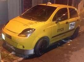 Taxi listo para traspaso recién reparado