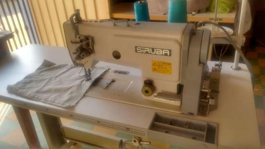 Siruba T828-42-064ML Doble aguja liviana 0